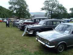 4-Vintage Car Rally scotland